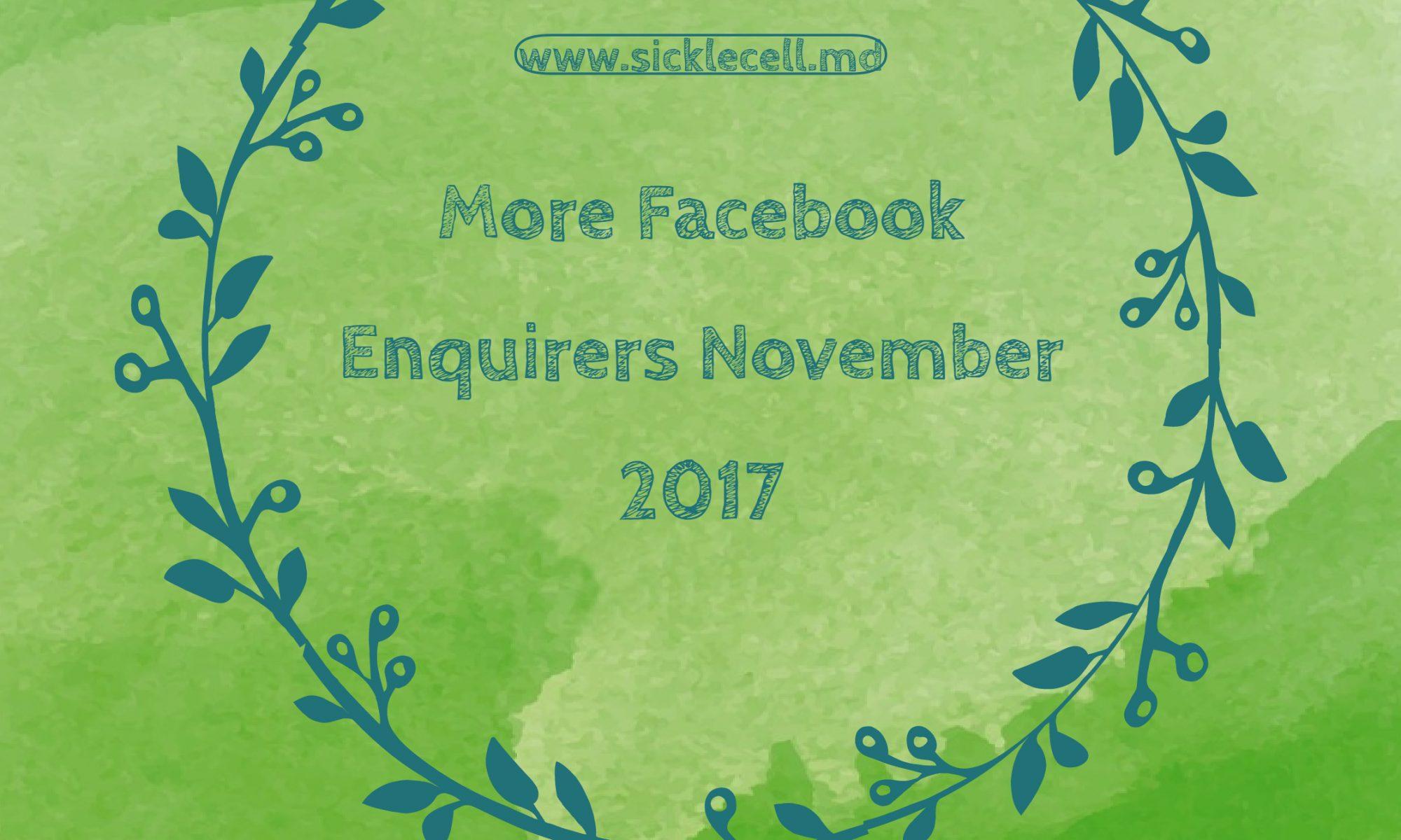 Facebook enquiries